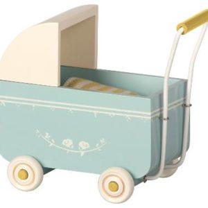 carrito-maileg-azul-cochecito