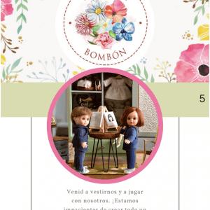 libro de costura Bombón