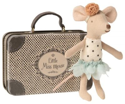 ratoncita bailarina mouse maileg maleta